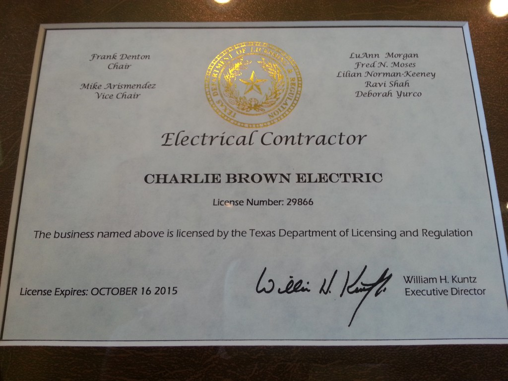 Electrical Contractors Board Electrical Contractors