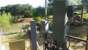 outdoor electrical panel